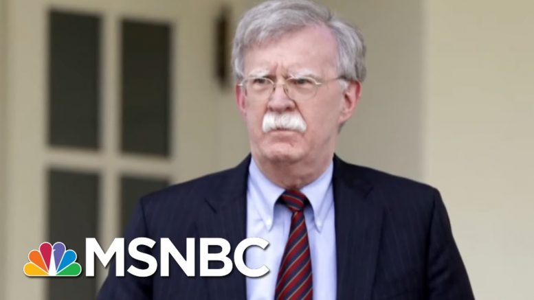Trump Fires National Security Adviser John Bolton in Reality TV Presidency- The Day That Was | MSNBC 1
