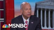 Jeh Johnson Has Message For All Dems On Immigration | Morning Joe | MSNBC 3