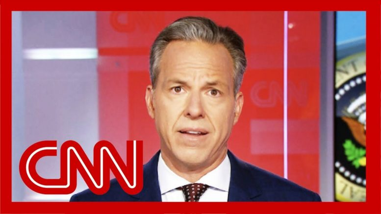 Jake Tapper: Trump has tenuous relationship with the truth but this is something else 1