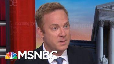 Jonathan Lemire On Trump's Alabama Tweets: 'His Words Do Matter' | Morning Joe | MSNBC 6