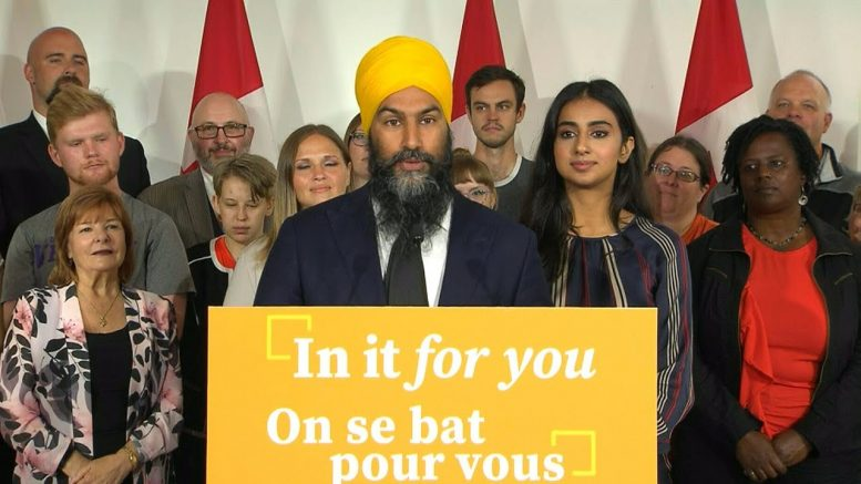 NDP Leader Jagmeet Singh's full remarks at campaign launch 1