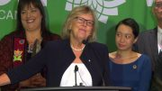Elizabeth May's campaign launch: Time for leaders to act on climate change 2