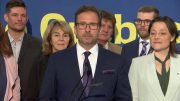 Bloc Leader Yves-François Blanchet discusses Quebec sovereignty at campaign launch 2