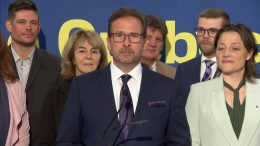 Bloc Leader Yves-François Blanchet discusses Quebec sovereignty at campaign launch 9