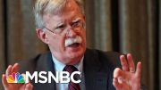 Trump: John Bolton Was Clashing With People In My Admin | Velshi & Ruhle | MSNBC 2