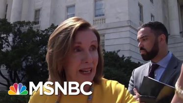 Nancy Pelosi Rips McConnell For Inaction On Gun Control | Hardball | MSNBC 6