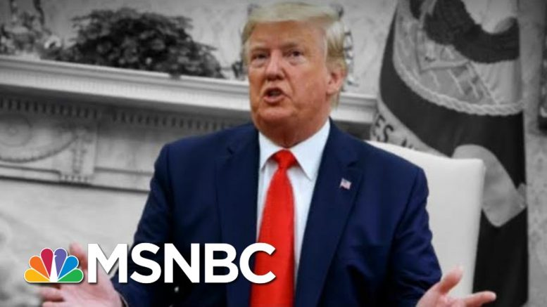 Trump Said He's Worried Kids Are Coming Home Saying 'Mom, I Want To Vape' | The 11th Hour | MSNBC 1
