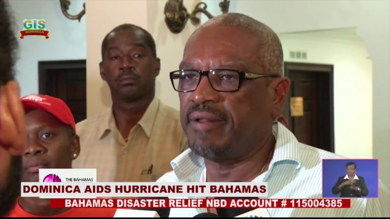 DOMINICA TAKES ACTION TO ASSIST THE BAHAMAS POST HURRICANE DORIAN 1
