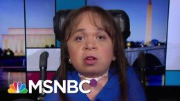 Medically Fragile Immigrant Appeals To Congress In Fight For Life   Rachel Maddow   MSNBC 7