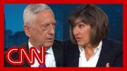 Amanpour presses Mattis: Why didn't you resign when Trump said this? 2