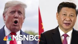 President Donald Trump Delays New China Tariffs Ahead Of Trade Talks | Velshi & Ruhle | MSNBC 4