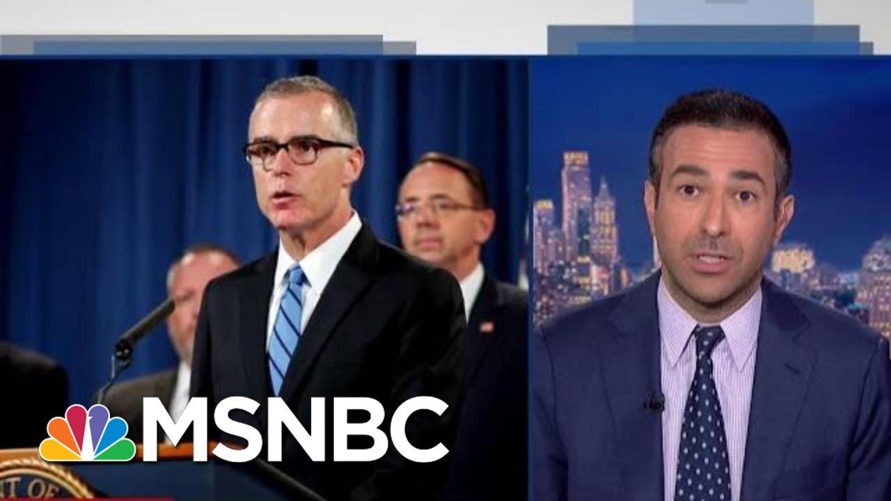 Trump DOJ May Indict FBI Official Who Ran Russia Probe   The Beat With Ari Melber   MSNBC 6