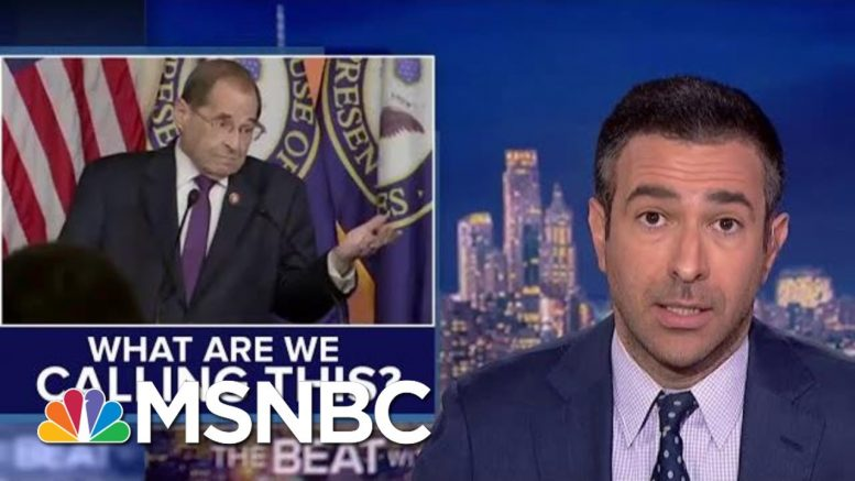Dems New Message: We're Sort Of Impeaching Trump | The Beat With Ari Melber | MSNBC 1