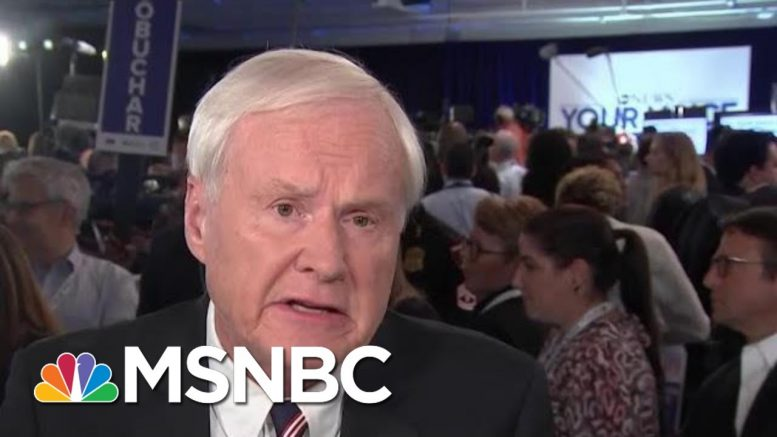 Chris Matthews: Debate Began With Calls For Ideological Unity, Divides Came Later | Hardball | MSNBC 1