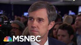 Beto O'Rourke Explains His Mandatory Gun Buy-Back Policy   Hardball   MSNBC 4