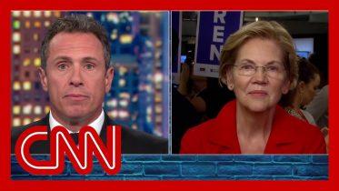 Watch Elizabeth Warren's post debate interview with Chris Cuomo 6