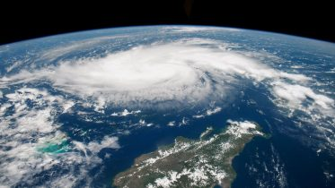 What caused Hurricane Dorian to stall over the Bahamas? 10