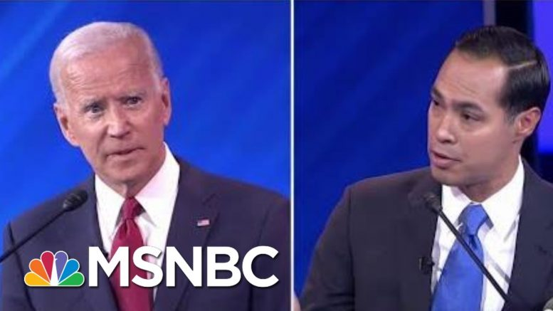 Did VP Biden Say Americans Would Have To 'Buy In' To His Healthcare Plan? | The 11th Hour | MSNBC 1