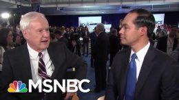 Julián Castro Defends Shots At Joe Biden | Hardball | MSNBC 8