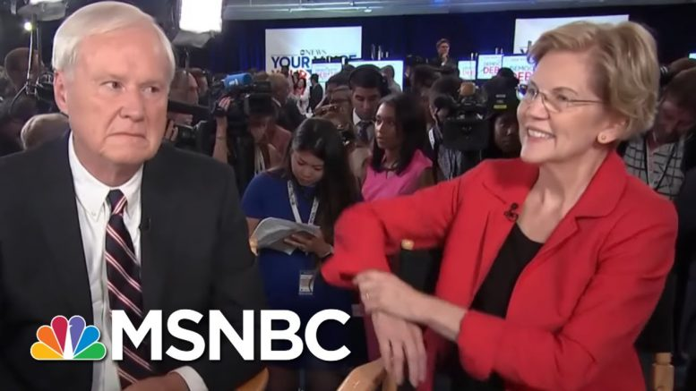 Elizabeth Warren: Government Working For Thin Slice At Top | Hardball | MSNBC 1