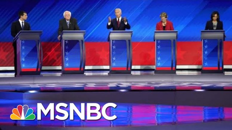 Democrats Hit Trump On Trade, Immigration, Race & More At Third 2020 debate | The 11th Hour | MSNBC 1