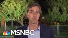 'It Is Mandatory': Beto O'Rourke Clarifies AR-15 Statement | Morning Joe | MSNBC 9
