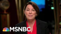 Senator Amy Klobuchar: I Actually Get Things Done | Morning Joe | MSNBC 8