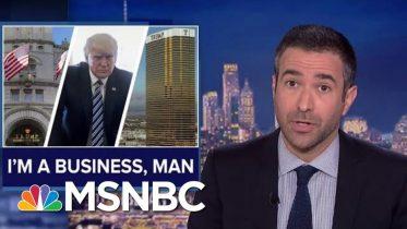 Trump Legal Blow Court Revives Corruption Suit Against POTUS | The Beat With Ari Melber | MSNBC 6