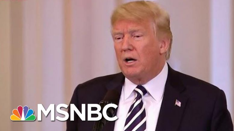 Trump Says 'Fake News' He Would Meet With Iran With No Preconditions | Morning Joe | MSNBC 1