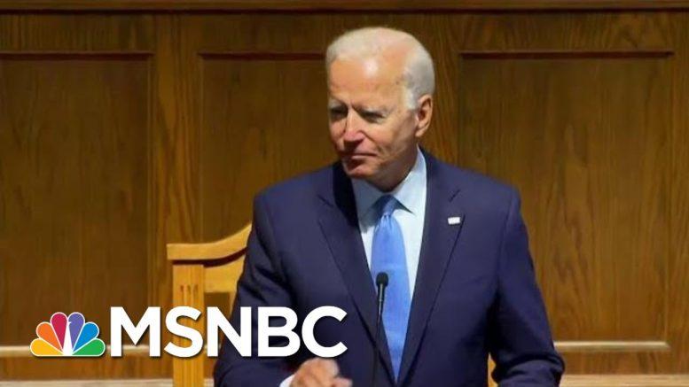 Joe Biden Delivers Significant Speech On Race In Birmingham | Morning Joe | MSNBC 1