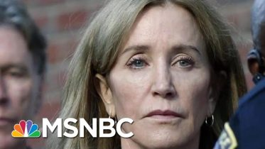 Public Backlash Over Felicity Huffman's 14-day Sentence | Velshi & Ruhle | MSNBC 6