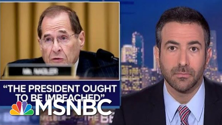 Dem Judiciary Chair: Time To Impeach 'Tyrant' Trump   The Beat With Ari Melber   MSNBC 1