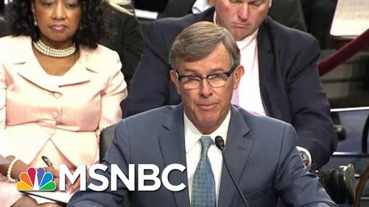 Acting-DNI Joseph Maguire Defies Law To Hold Whistleblower Report | Rachel Maddow | MSNBC 4