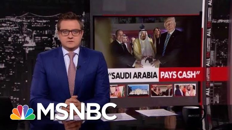 Trump Is Ready To Dispatch The US Armed Forces At The Direction Of A Foreign Prince   All In   MSNBC 1