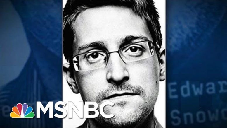 Edward Snowden: I Never Wanted To Destroy The NSA, I Wanted To 'Reform It' | The 11th Hour | MSNBC 1