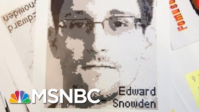 Snowden: The Government Can Hack Your iPhone Like A Criminal To Track You | The 11th Hour | MSNBC 1