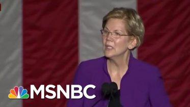 'Enormous Crowd' Gathers At Elizabeth Warren NYC Rally | Morning Joe | MSNBC 6