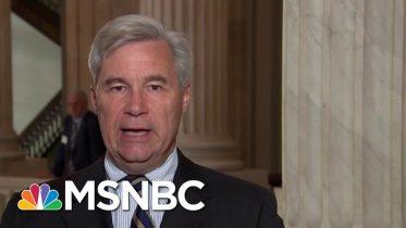 Sen. Sheldon Whitehouse: 'Weird' To See Kavanaugh FBI Probe 'Turning Away' Info | MTP Daily | MSNBC 6