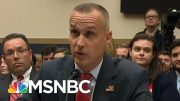Trump Campaign Manager Testifies On Capitol Hill, Preening For An Audience Of One | Deadline | MSNBC 5