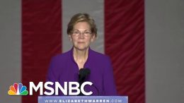 Elizabeth Warren Sees Her Biggest Crowds Yet At Rally In New York City | Deadline | MSNBC 6