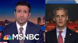 House Dems Confront Trump Aide Lewandowski Over Lying On MSNBC | The Beat With Ari Melber | MSNBC 5