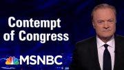 "Fmr. Federal Prosecutor: Lewandowski ""May Have Perjured Himself"" In Hearing | The Last Word | MSNBC 3"