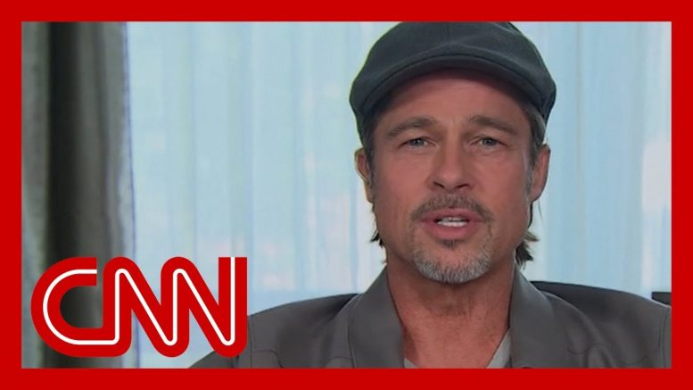 Brad Pitt opens up: I was running 1
