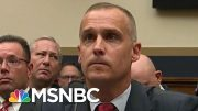 Combative Corey Lewandowski Begrudgingly Affirms Mueller Report's Truth | Rachel Maddow | MSNBC 5