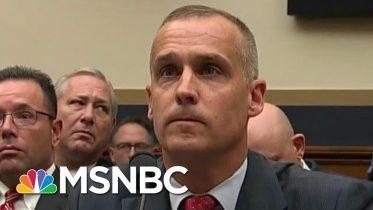 Combative Corey Lewandowski Begrudgingly Affirms Mueller Report's Truth | Rachel Maddow | MSNBC 10