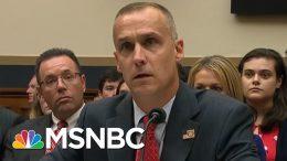 Corey Lewandowski Stonewalls Democrats - The Day That Was   MSNBC 7