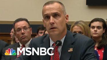 Corey Lewandowski Stonewalls Democrats - The Day That Was | MSNBC 8