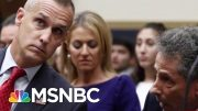 Corey Lewandowski 'Was Talking Directly To Donald Trump' | Morning Joe | MSNBC 4
