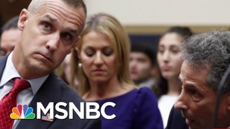 Corey Lewandowski 'Was Talking Directly To Donald Trump' | Morning Joe | MSNBC 1