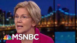 NBC/WSJ Poll: Elizabeth Warren Has Edge In 'Enthusiasm' | Velshi & Ruhle | MSNBC 5